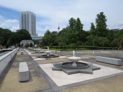 06 Juillet - Kuala Lumpur - Les parcs... que du bonheur !