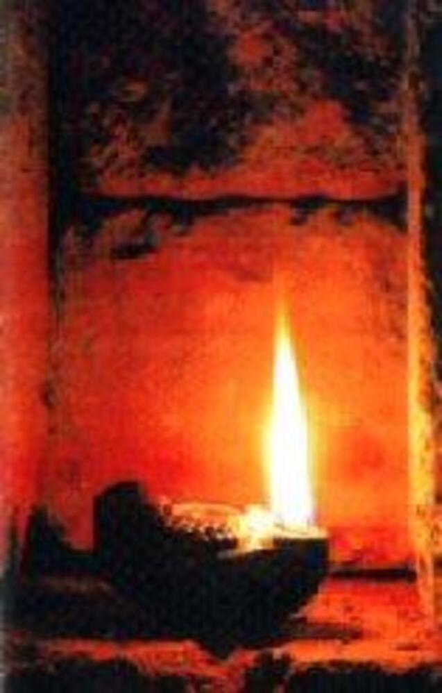 Lampe à huile 1