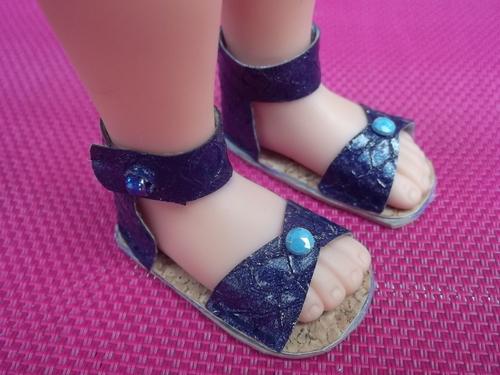 Des sandales !