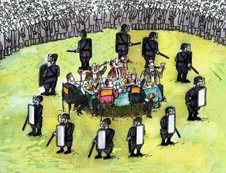 L'oligarchie et le mensonge ...