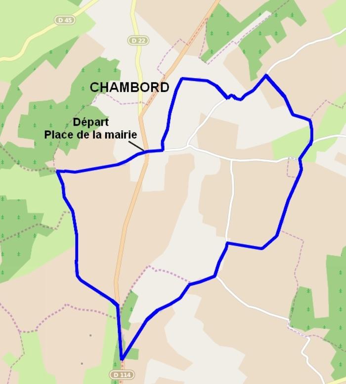 Promenade autour de Chambord