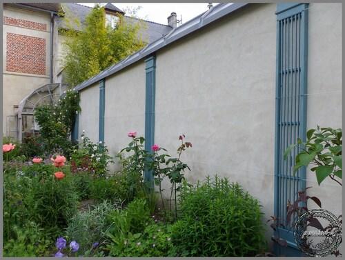 le jardin de Mr et Mme Bu.......