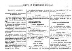 Concours exposition universelle 1867. Les orphéons