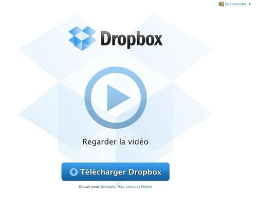 la dropbox : CLÉ USB VIRUTELLE