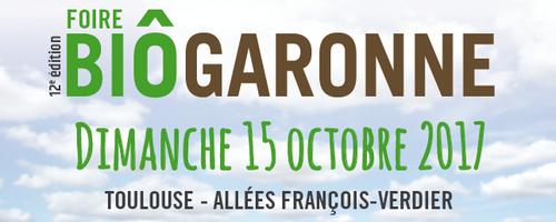 15 Octobre 2017  Bio Garonne TOULOUSE 31