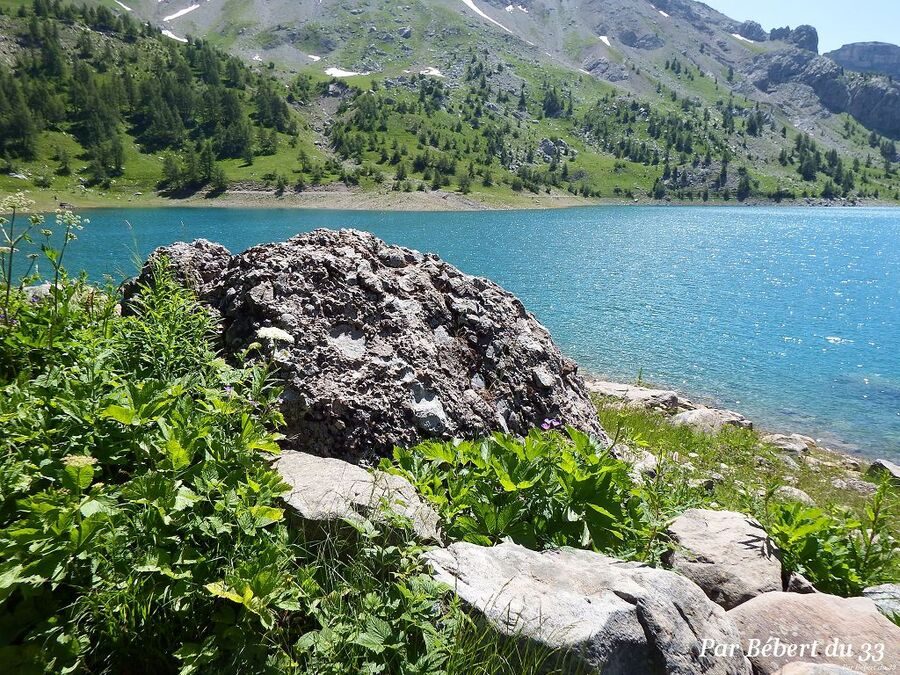 le lac d'Allos dept 04 (2)