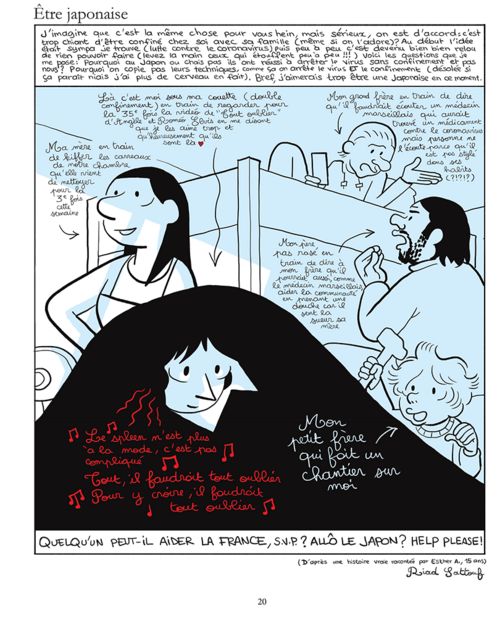 Riad Sattouf, Les cahiers d'Esther, Histoires de mes 15 ans, Allary éditions