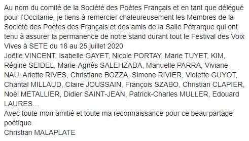 Festival Sète 2020
