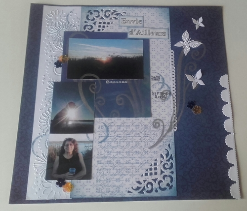 Scrap: Carterie sur rhodoïd transparen / et sketch de page-  Forum Scrap Mania