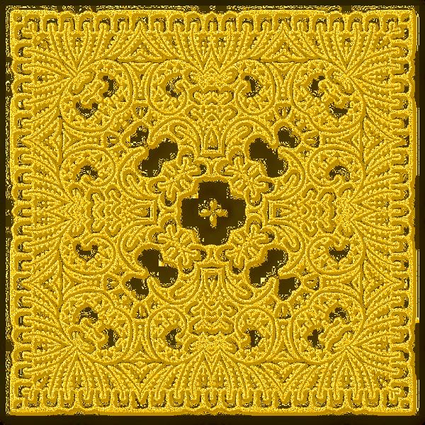 Dentelles jaunes 12