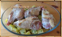 Manchons de Canard Rôtis et Pommes de terre Persillées