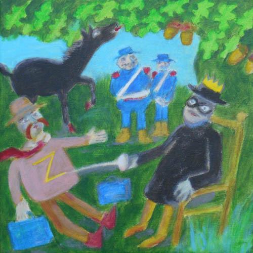 Justice sous le chêne
