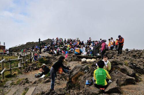 13 septembre - le mont Hallasan