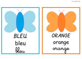 Affichage : Les couleurs