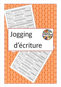 Jogging d'écriture