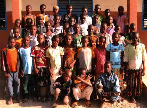 Des photos de l'école du secteur 4 de Sapouy