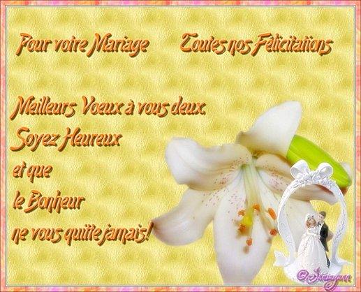 Voeux De Mariage Passion Des Fleurs