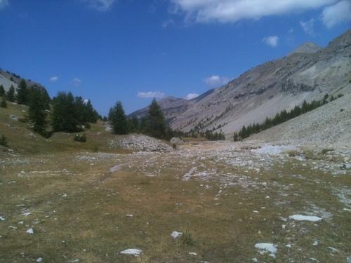Vers les lacs de Lignin