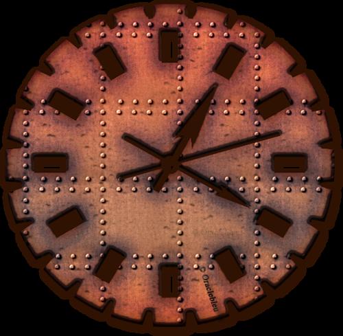 Horloge féérique