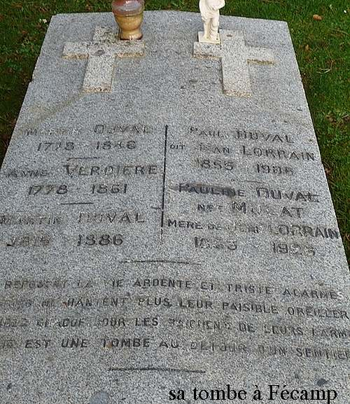 30 juin 1906 : décès de Jean Lorrain