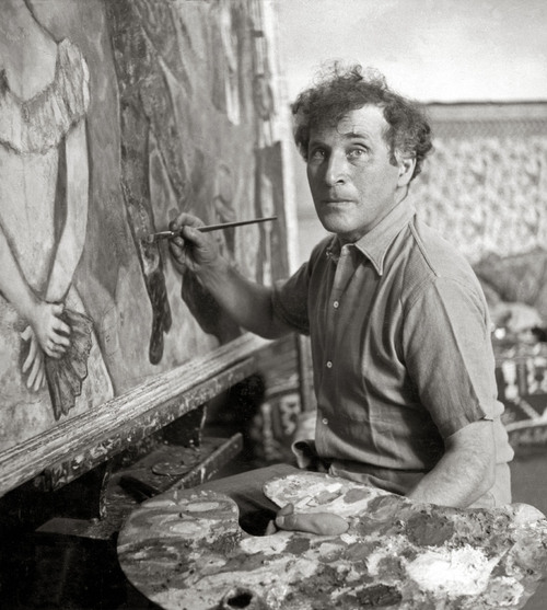 Tribute to Chagall.