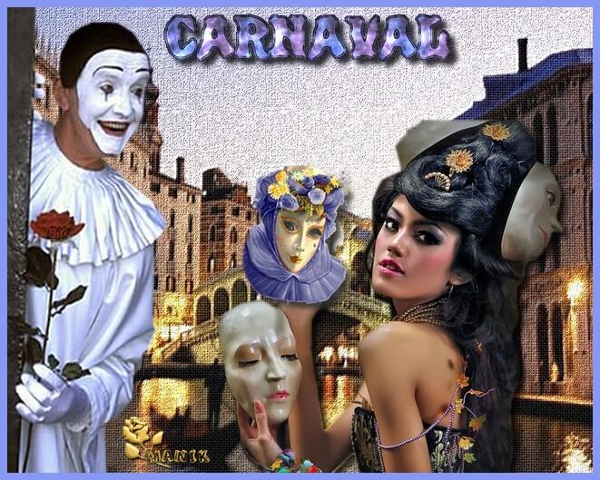 Vive le carnaval défi pour fée Capucine !