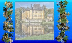 Jouer à Juchen chateau de Dyck puzzle