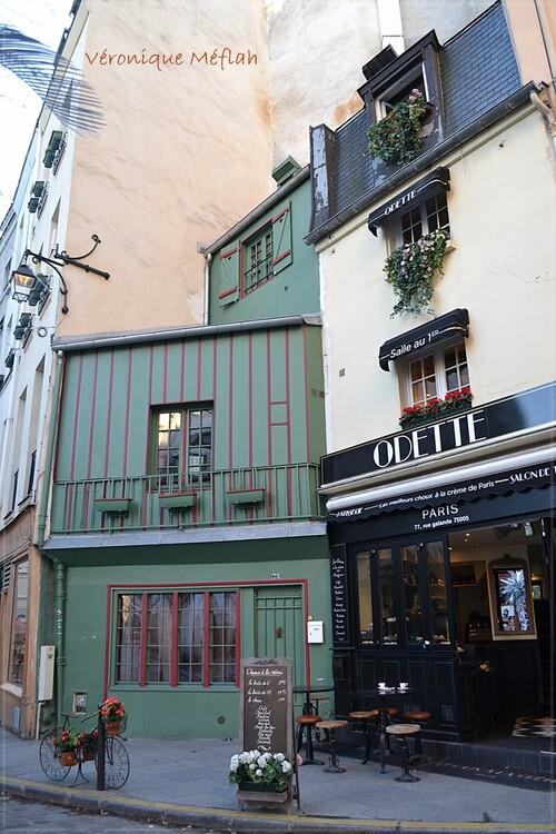 Paris 5ème arrondissement : La rue Galande et chez Odette