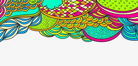 Fond: Multicolore