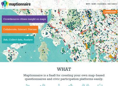 Maptionnnaire, un nouvel outil pour comprendre les usages d'un territoire