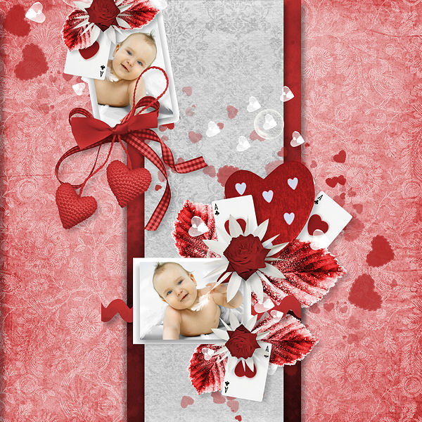 """Red Passion"" de Lia Scrap"