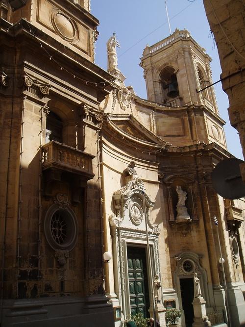 Promenade à La Valette autour de la Cathédrale (photos)