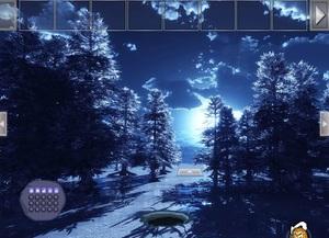 Jouer à Full moon day forest escape