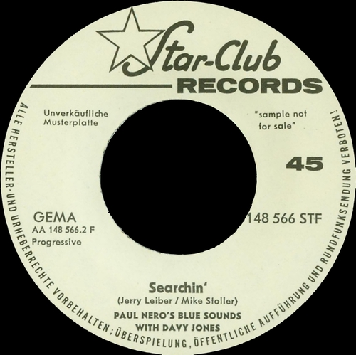 1966 : Single SP Star-Club Records 148 566 STF [ GE ]