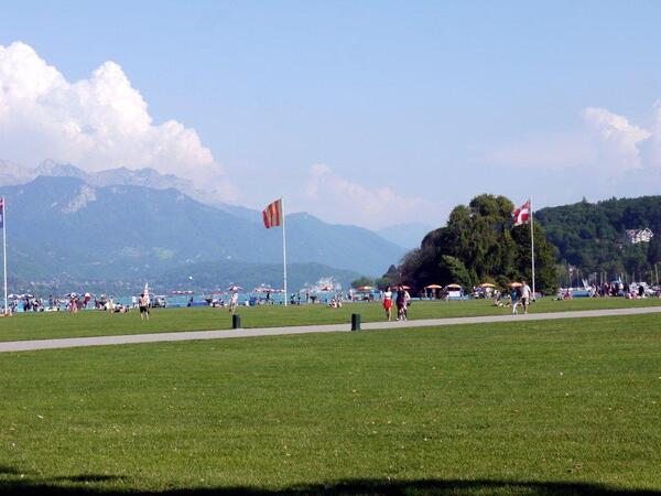 la partie central à Annecy