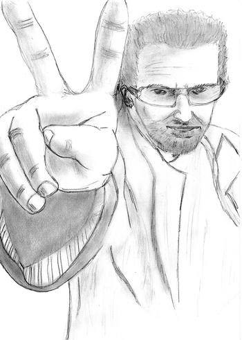 Portrait Bono -20mars06-
