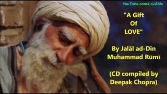 CHOPRA, Deepak - Intoxicated by Love, Poème de Rumi (Musique pour l'âme)