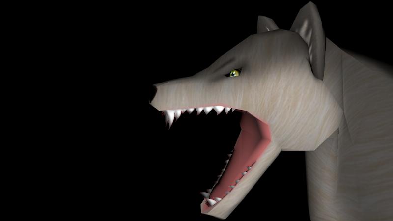 Wolfy Le Chien Loup Art Way