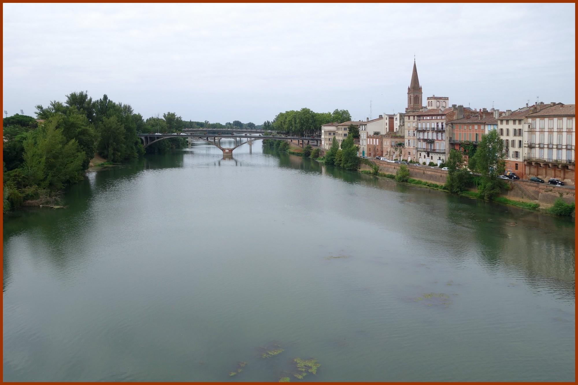 Du Pont-Vieux vers le Pont-Neuf et l'église Notre-Dame des Victoires