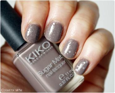 Vernis Sugar Mat 638 de Kiko, du sable sur tes doigts