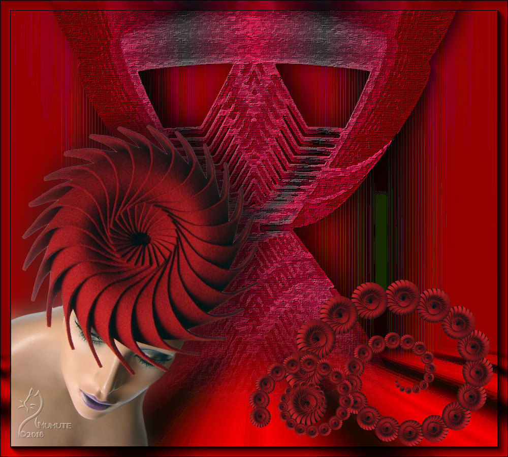 L'escargot faite femme