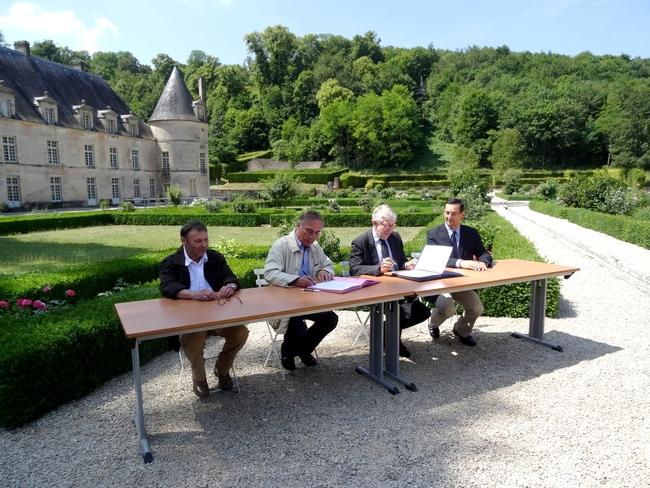 Allain Bougrain-Dubourg au château de Bussy Rabutin