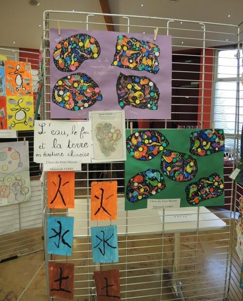 Exposition à Fouquières