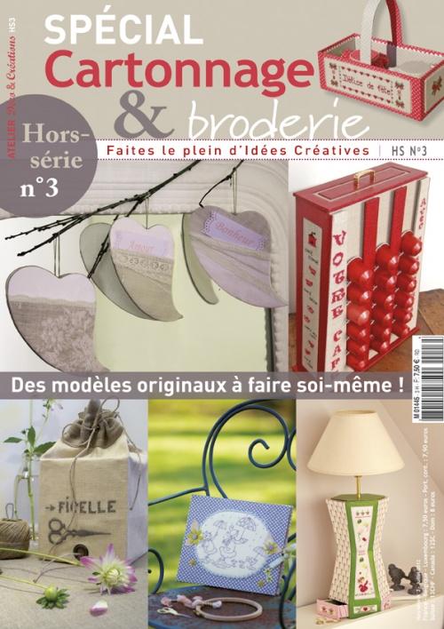"Passion Fil ""Cartonnage et Broderie"" n°4"