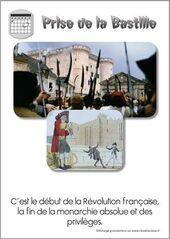 14 juillet 1789 prise de la Bastille début de la Révolution française