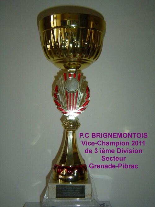 CHAMPIONNAT DE ZONE DES CLUBS 2012.