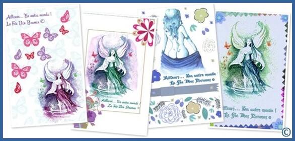 ★ Cartes/Cahiers illustrés + Textes  ©