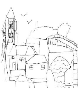 dessine ta ville élise 10 ansrec