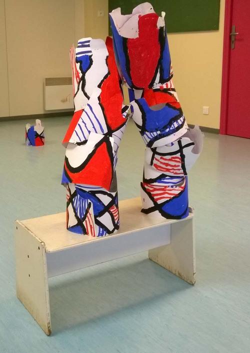 Exposition Dubuffet : Les sculptures