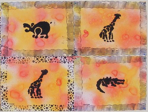 Nos peintures d'Afrique